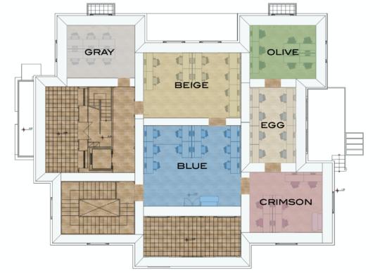 Private Desks MAP